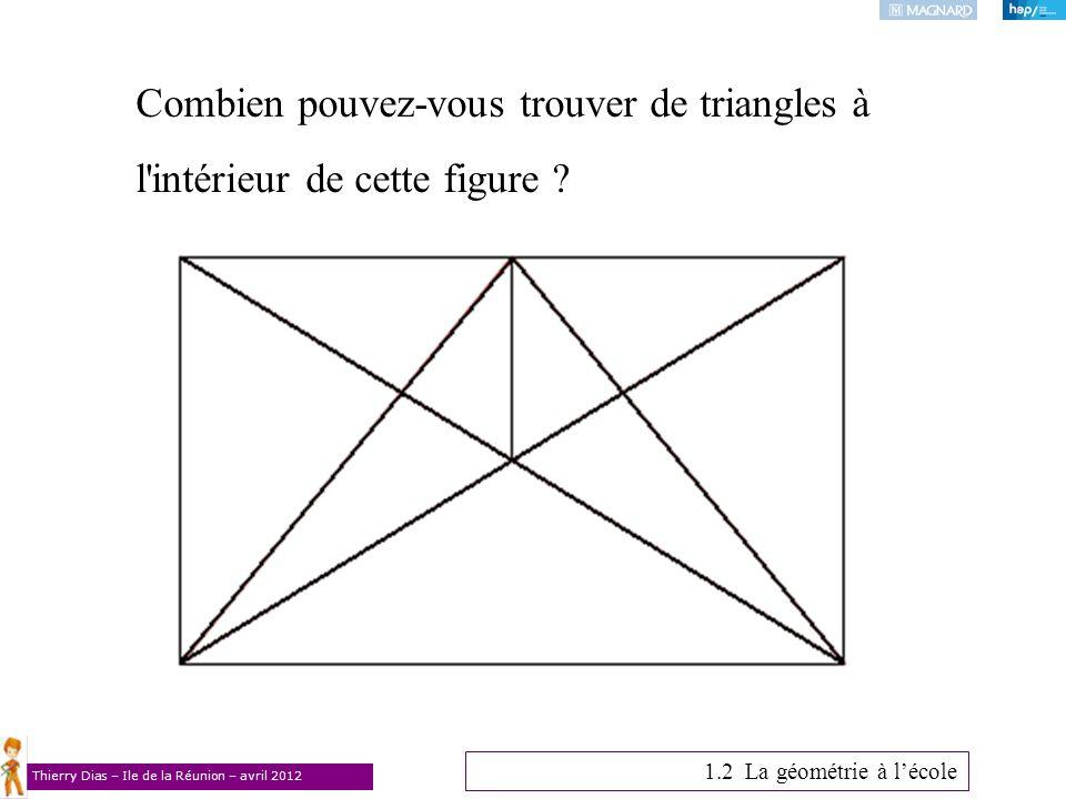 Combien pouvez-vous trouver de triangles à l intérieur de cette figure