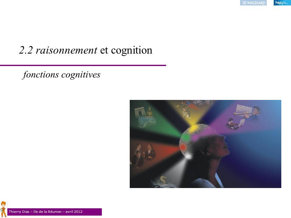 2.2 raisonnement et cognition