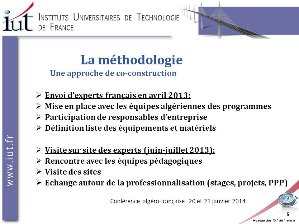 La méthodologie Une approche de co-construction
