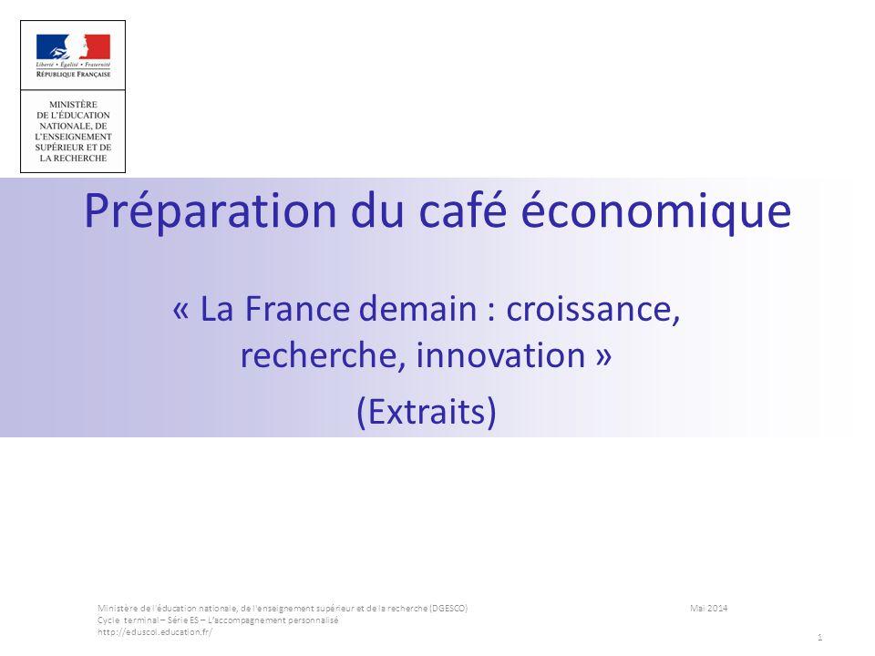 Préparation du café économique