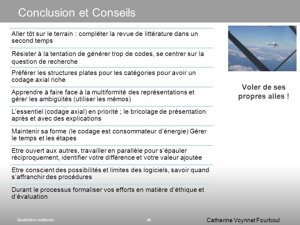 Conclusion et Conseils