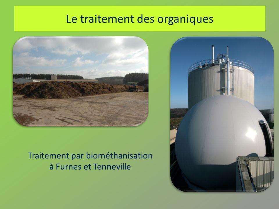 Le traitement des organiques