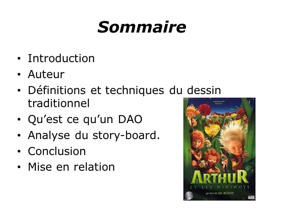 Sommaire Introduction Auteur