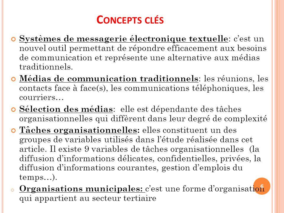 Concepts clés