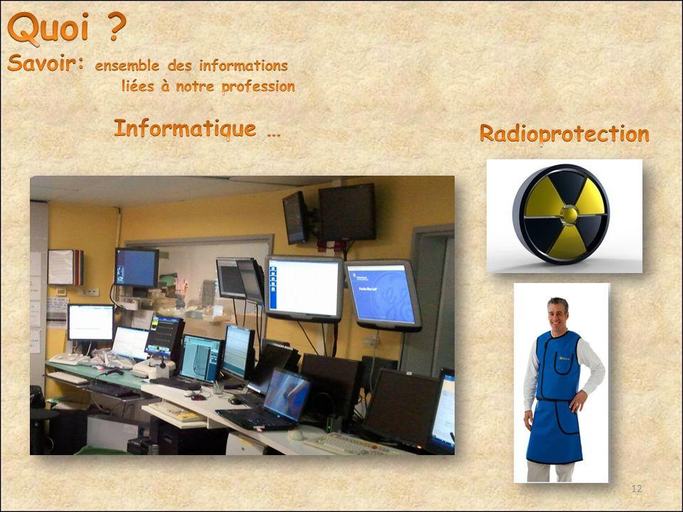 Quoi Savoir: ensemble des informations Informatique …