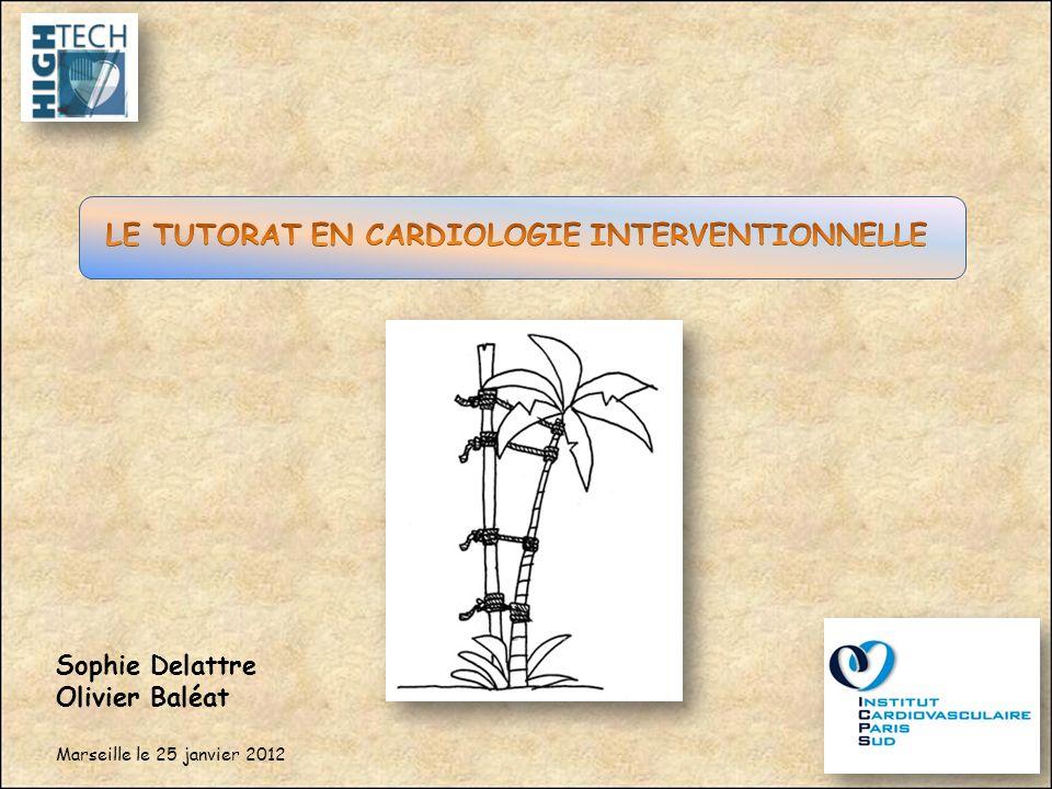 LE TUTORAT EN CARDIOLOGIE INTERVENTIONNELLE