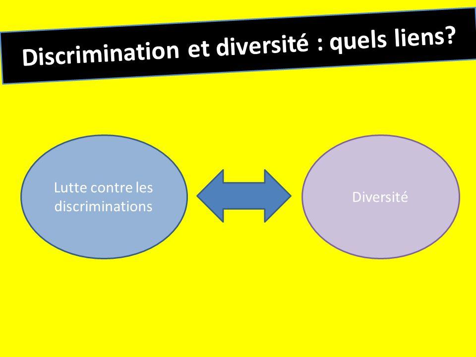 Discrimination et diversité : quels liens