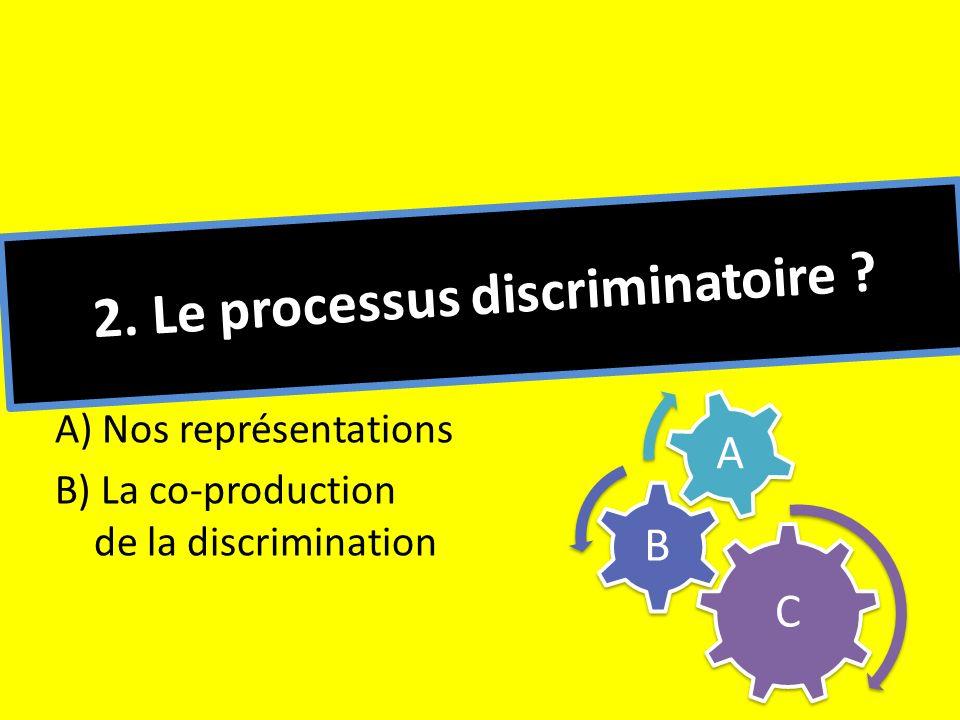 2. Le processus discriminatoire
