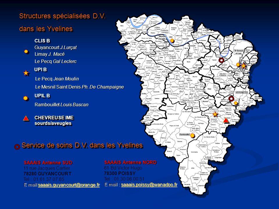 Structures spécialisées D.V. dans les Yvelines