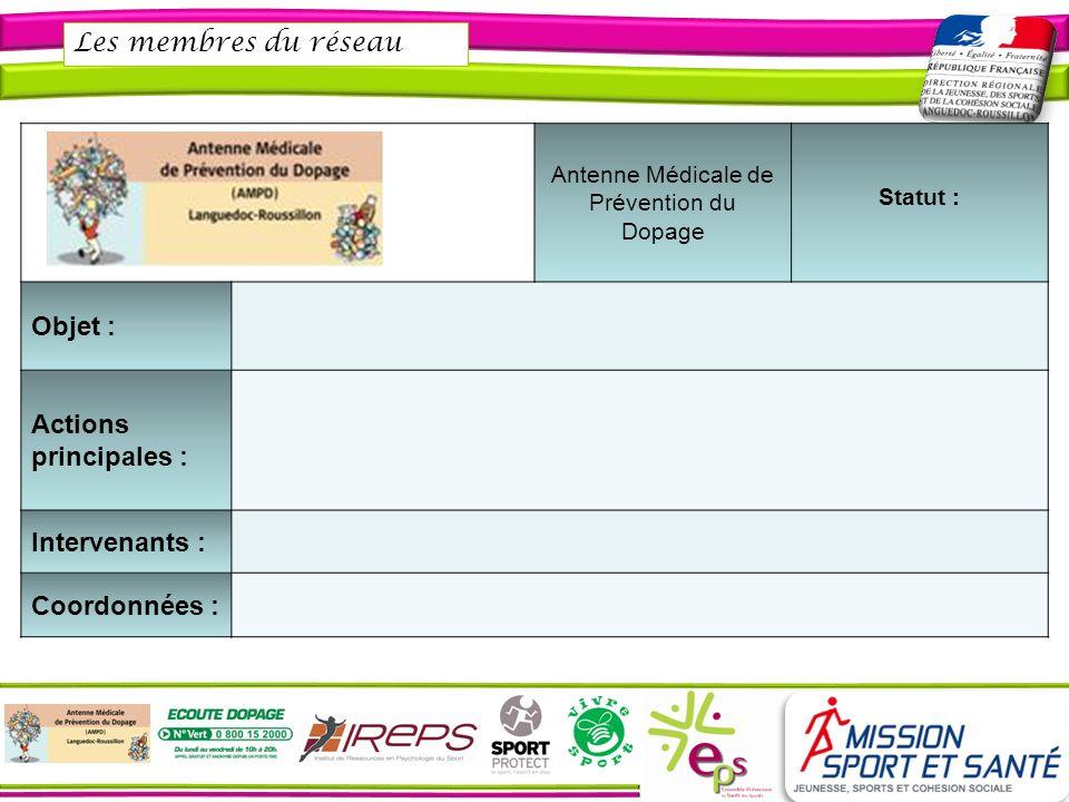 Antenne Médicale de Prévention du Dopage