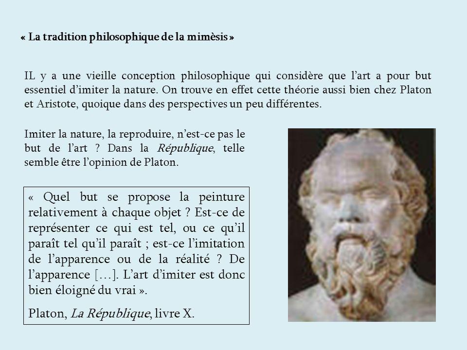 Platon, La République, livre X.