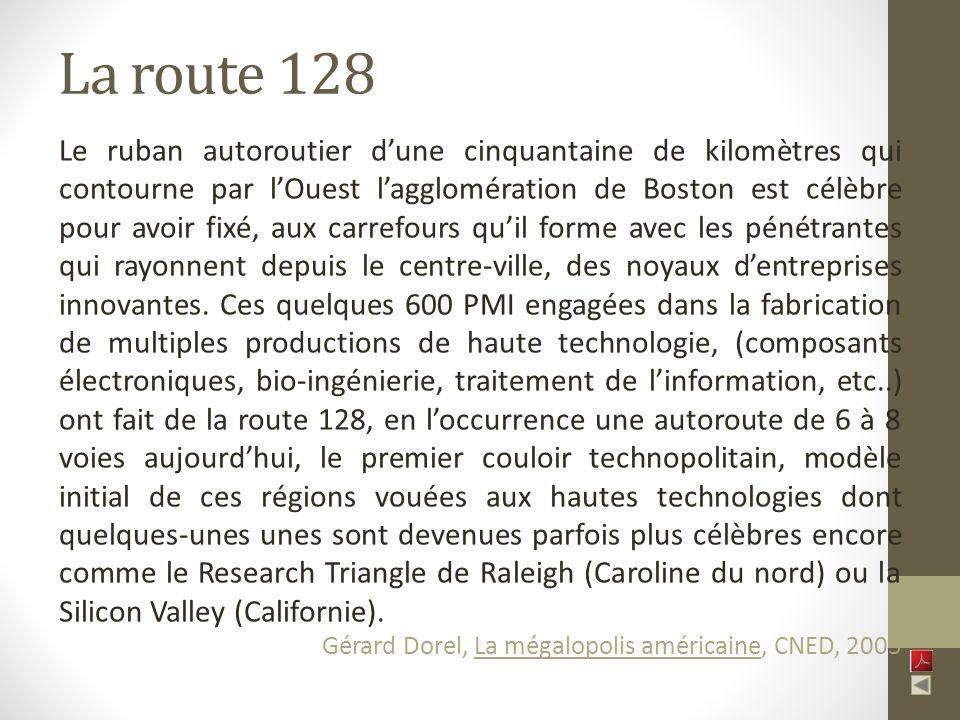 La route 128