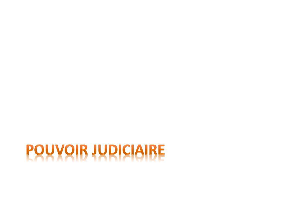 Pouvoir judiciaire