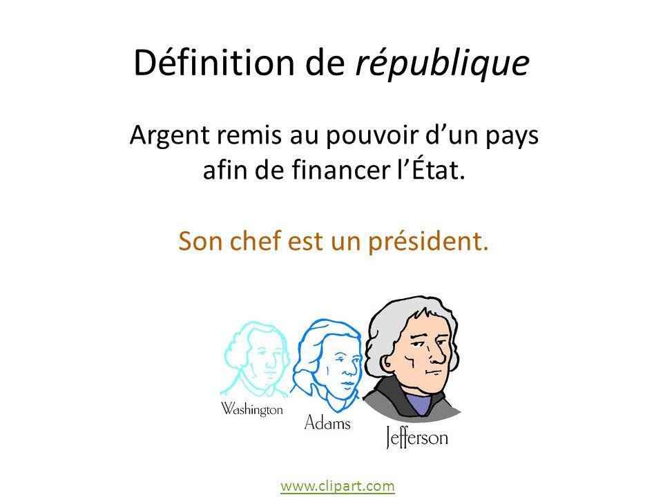 Définition de république
