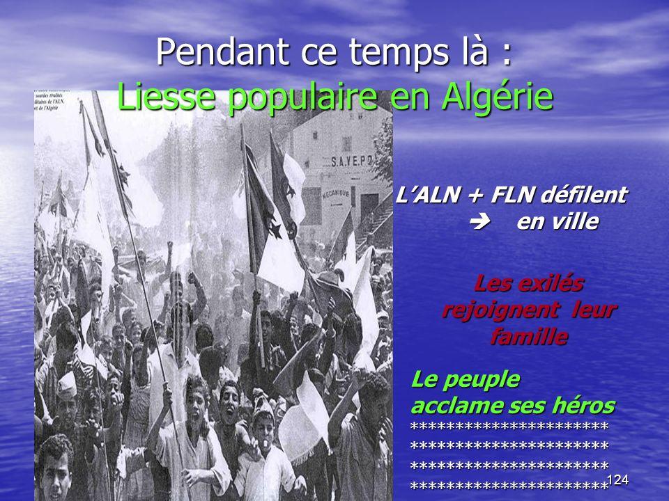 Pendant ce temps là : Liesse populaire en Algérie