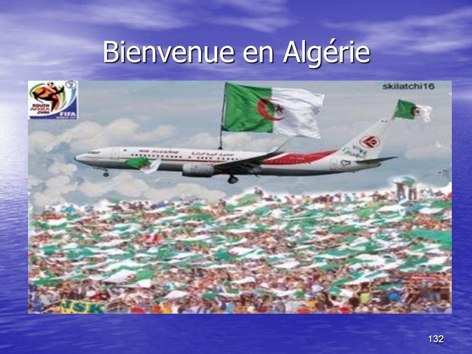 Bienvenue en Algérie