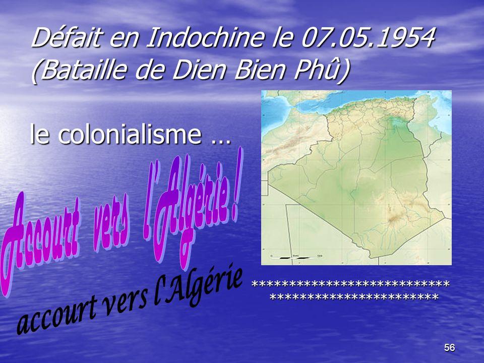 Accourt vers l'Algérie !