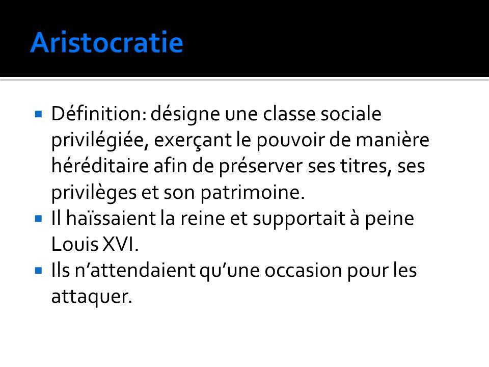 Aristocratie