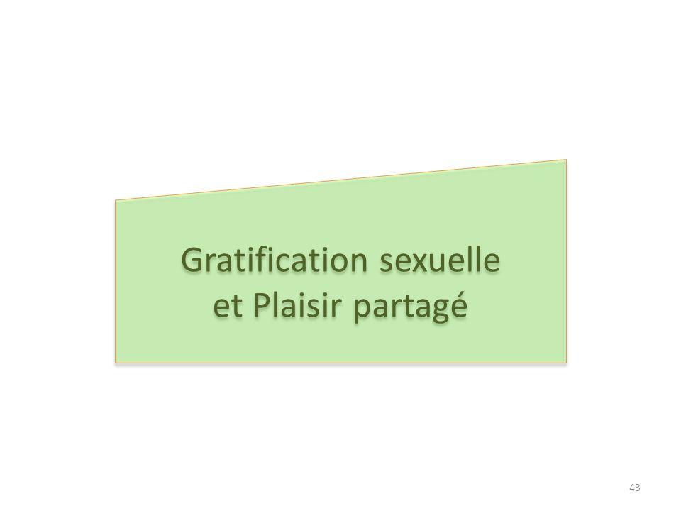Gratification sexuelle