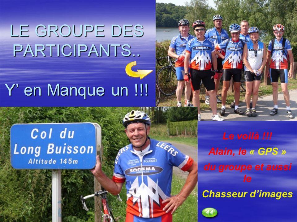 LE GROUPE DES PARTICIPANTS.. Y' en Manque un !!!