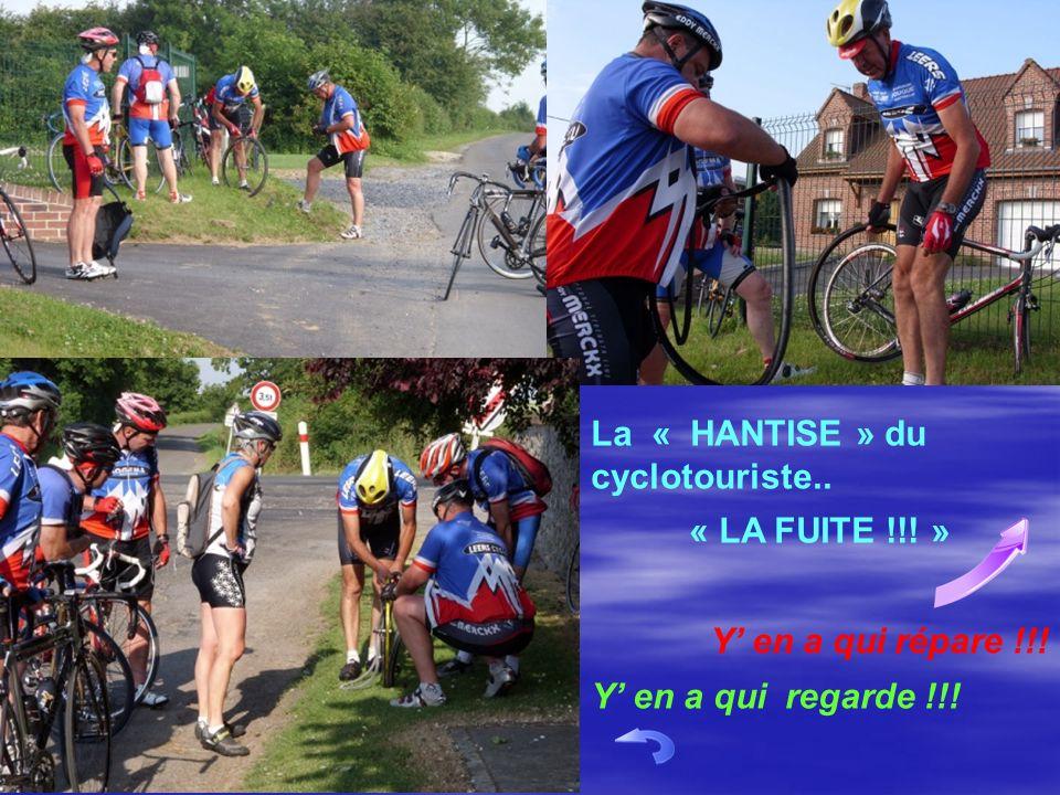 La « HANTISE » du cyclotouriste..