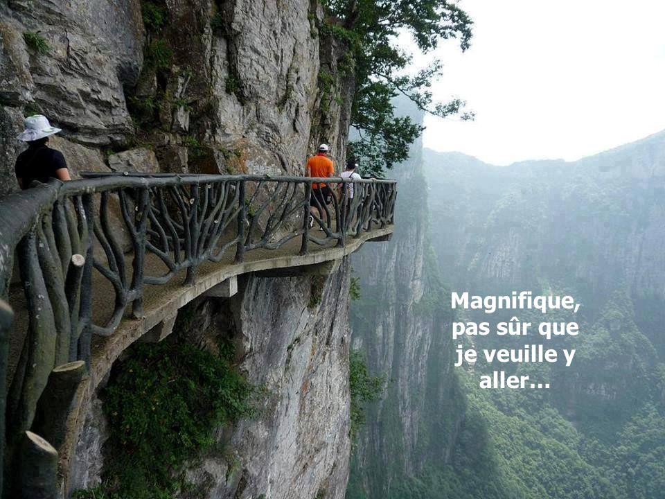 Magnifique, pas sûr que je veuille y aller…