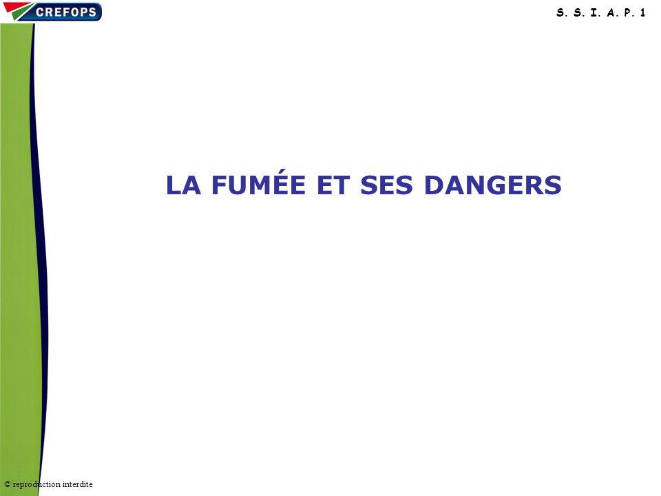 LA FUMÉE ET SES DANGERS LA FUMÉE ET SES DANGERS