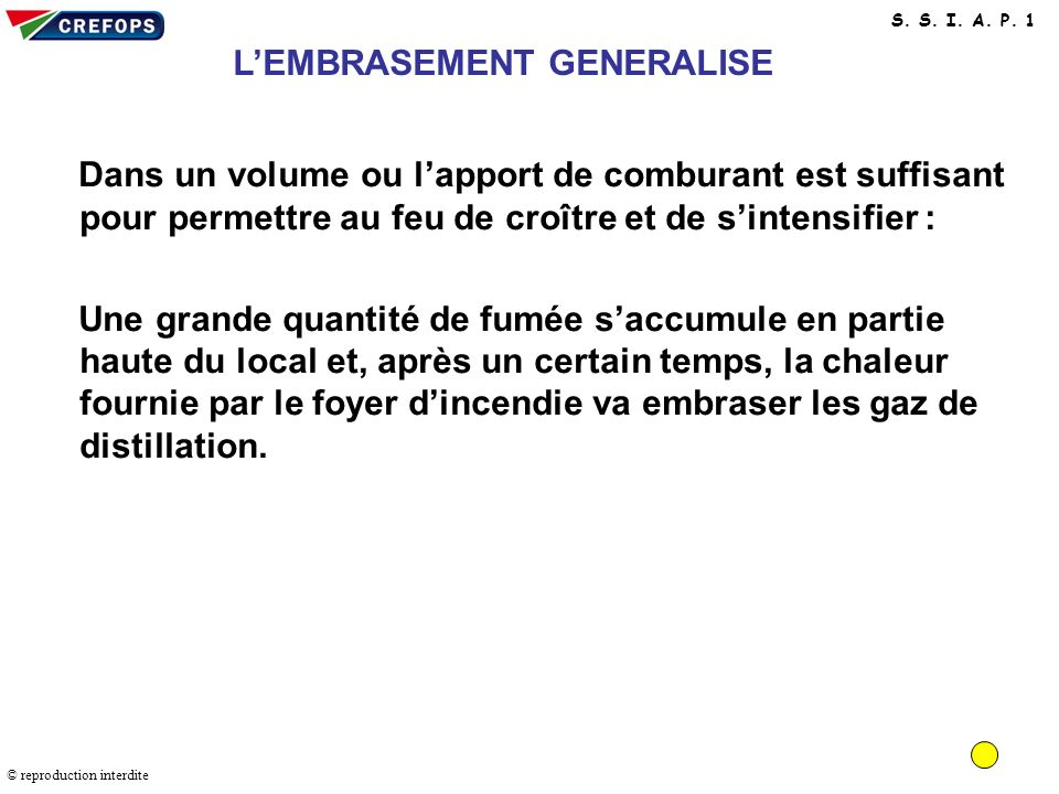 L'EMBRASEMENT GENERALISE
