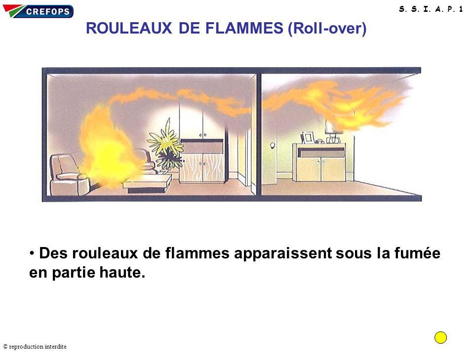 ROULEAUX DE FLAMMES (Roll-over)