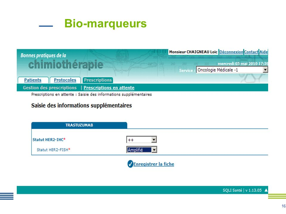 Bio-marqueurs