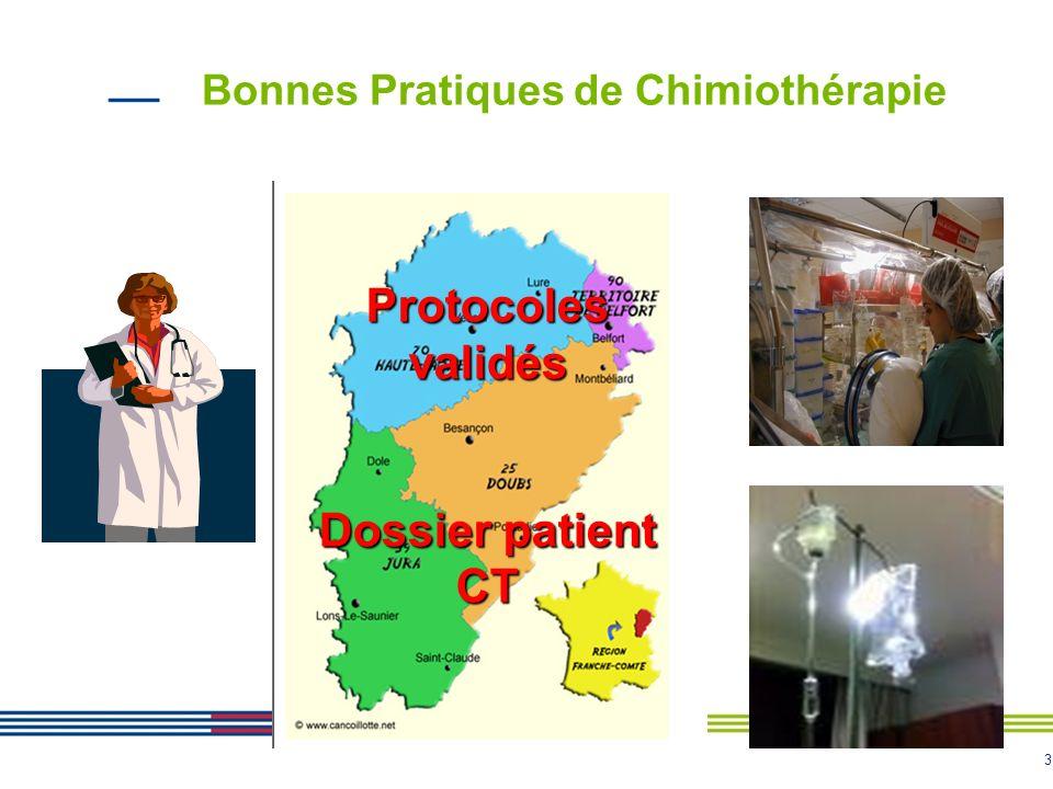 Bonnes Pratiques de Chimiothérapie
