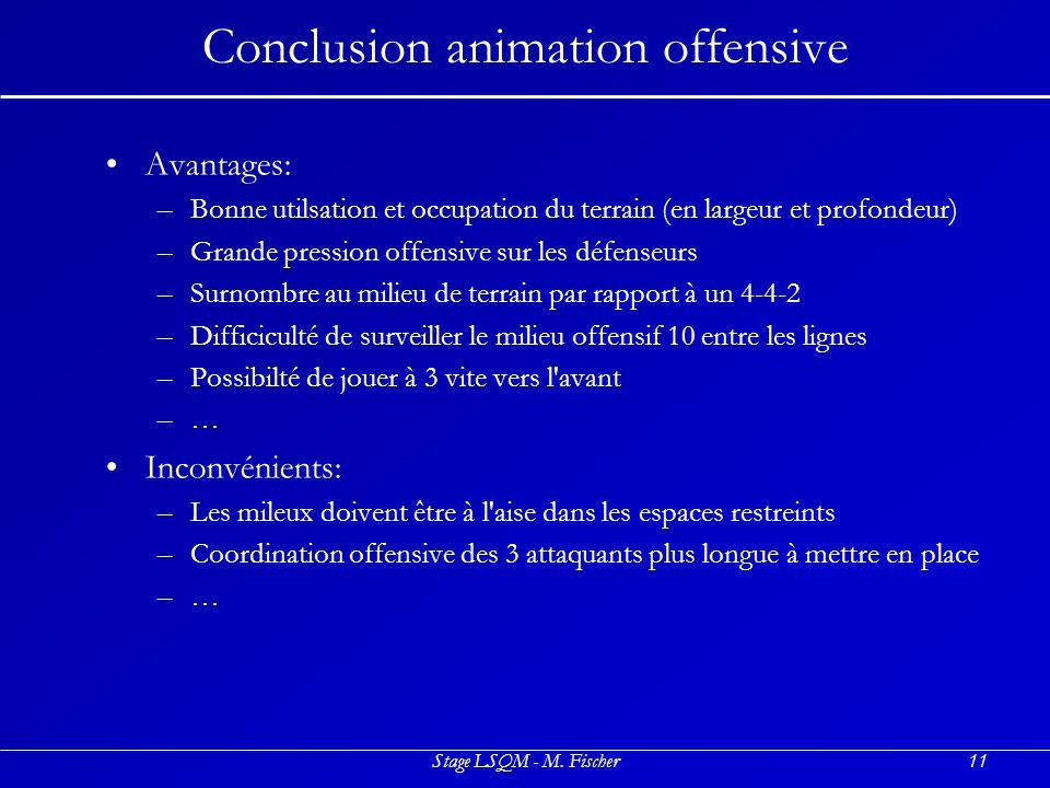 Conclusion animation offensive