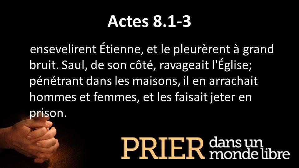Actes 8.1-3