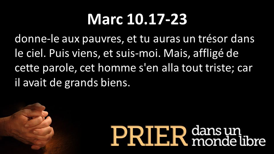 Marc 10.17-23