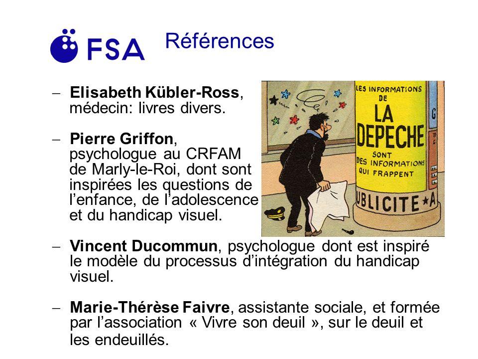 Références Elisabeth Kübler-Ross, médecin: livres divers.