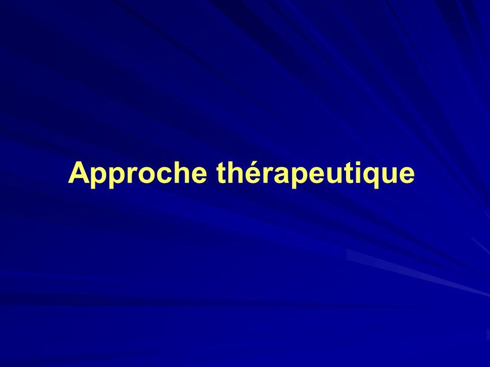 Approche thérapeutique
