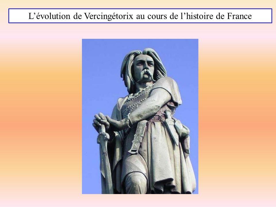 L'évolution de Vercingétorix au cours de l'histoire de France