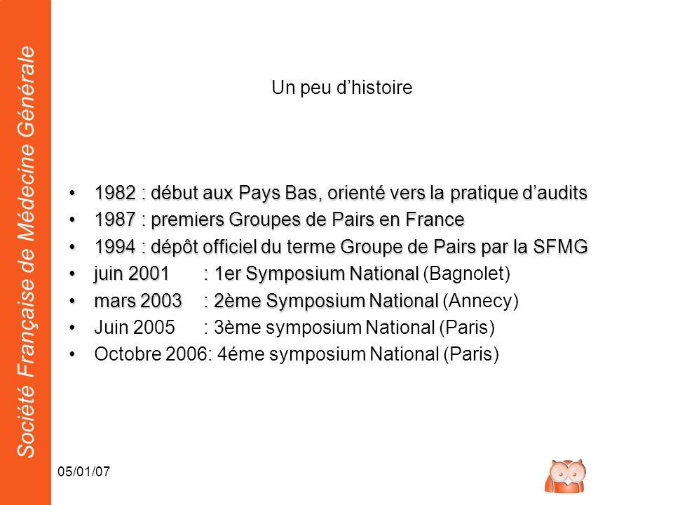 1982 : début aux Pays Bas, orienté vers la pratique d'audits