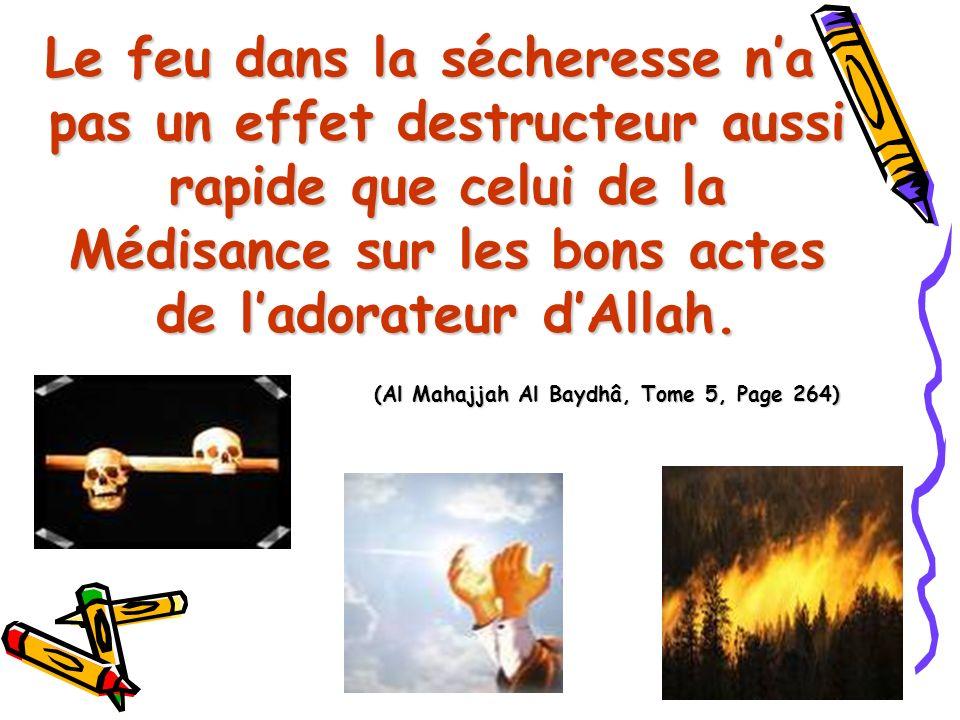 (Al Mahajjah Al Baydhâ, Tome 5, Page 264)