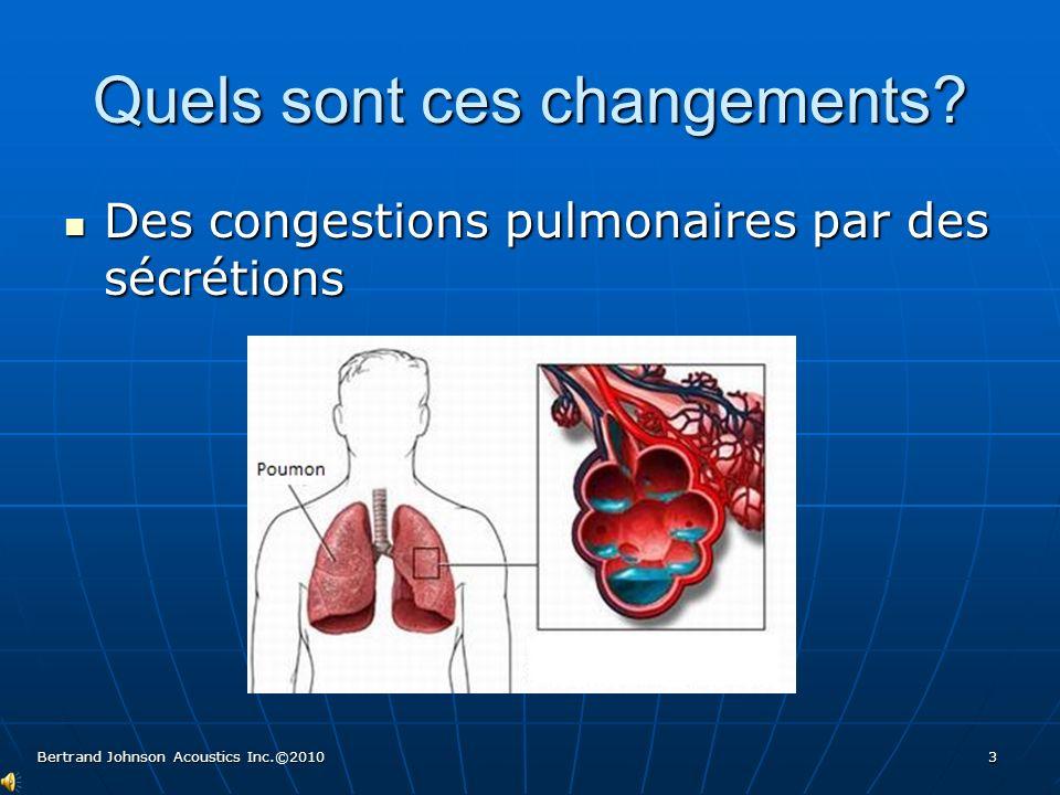 Des poumons avec des membranes tissulaires durcies