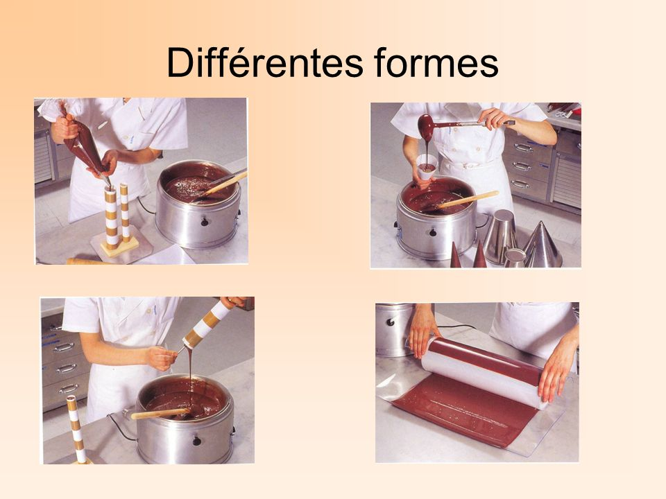 Différentes formes