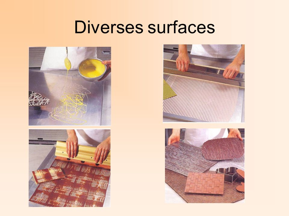 Diverses surfaces