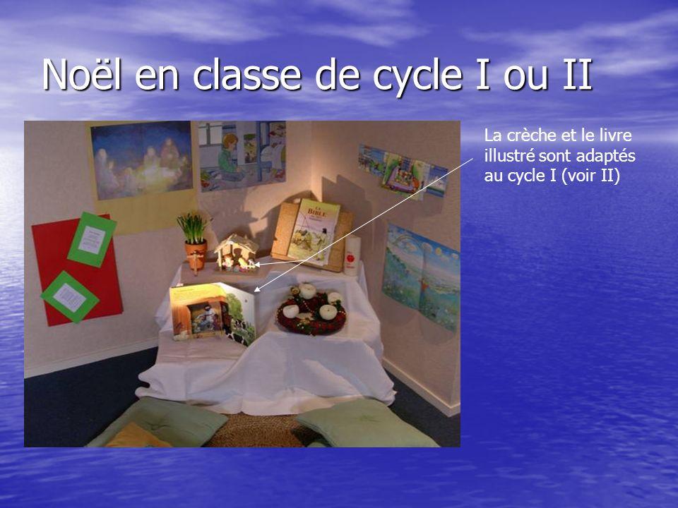 Noël en classe de cycle I ou II