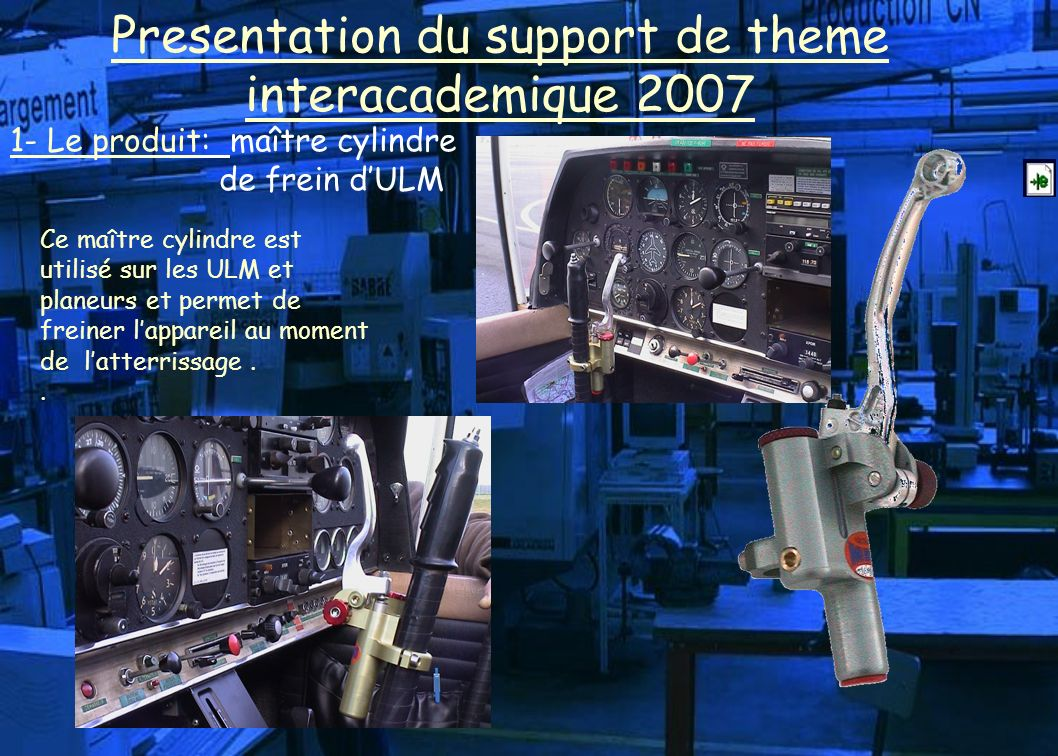 Presentation du support de theme interacademique 2007