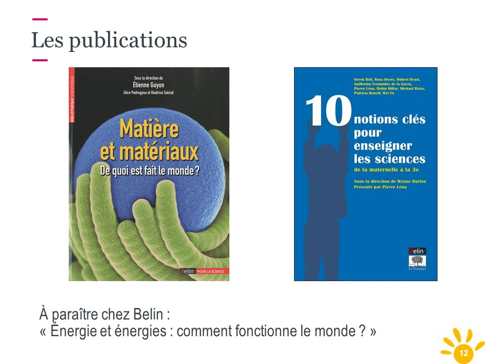 Les publications À paraître chez Belin :
