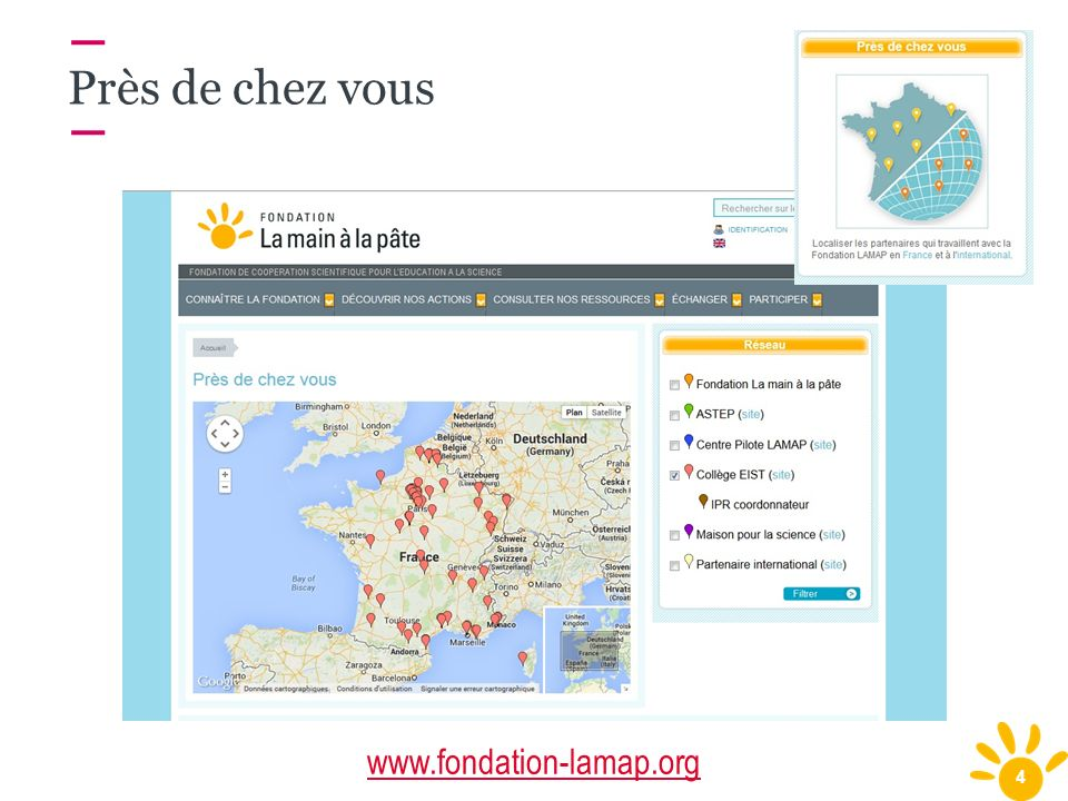 Près de chez vous www.fondation-lamap.org