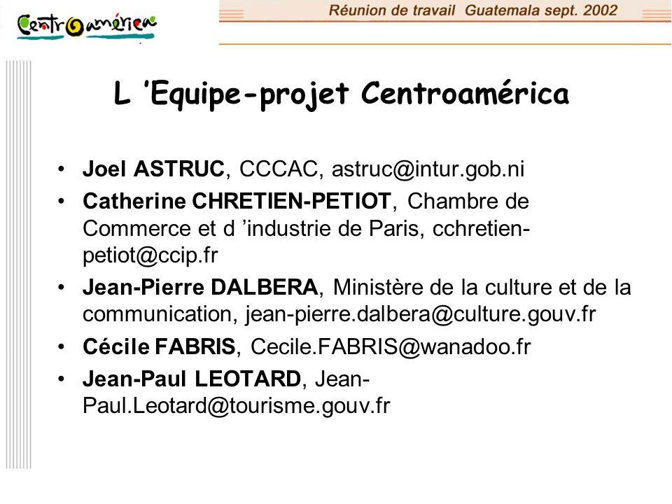 L 'Equipe-projet Centroamérica