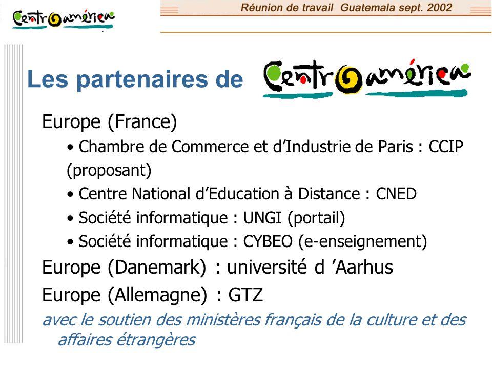 Les partenaires de Europe (France)