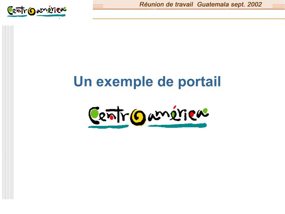 Un exemple de portail