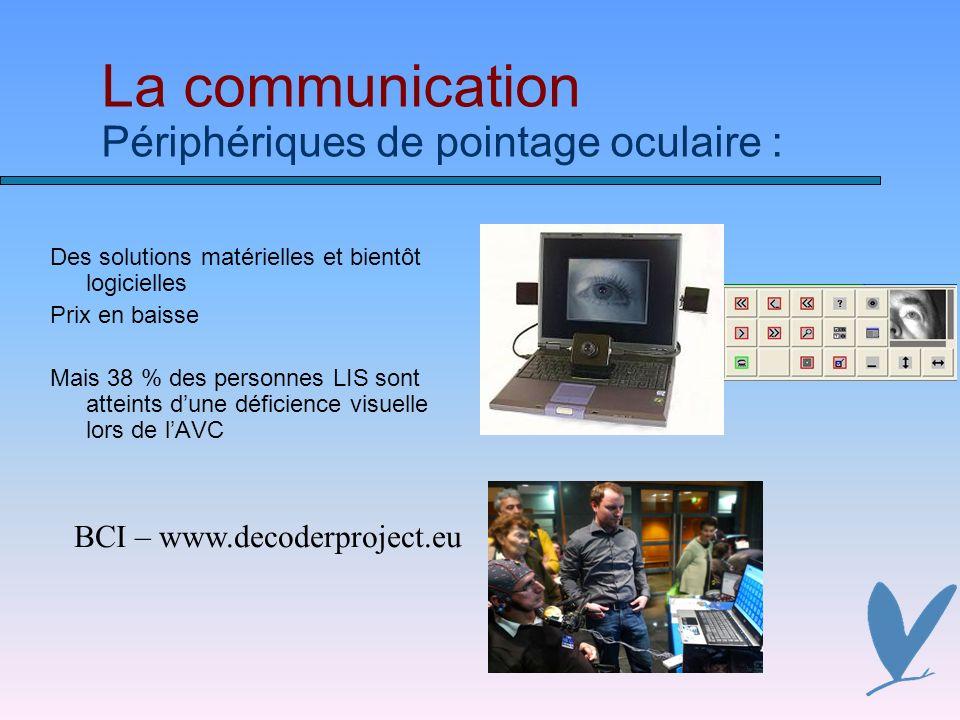 La communication Périphériques de pointage oculaire :